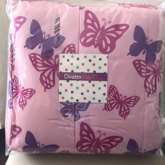 Divatex kids Other - Twin Butterfly Comforter
